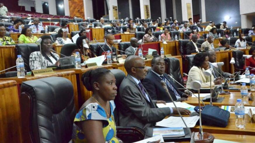 Parliamentarians in a past plenary session. PAC is set to begin proceedings to check accountability issues that were raised in the last financial year Auditor General's report. (File)