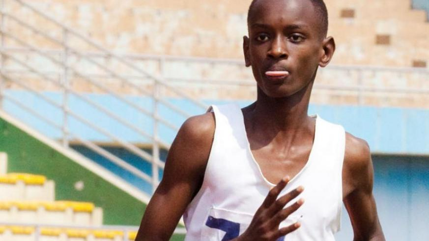 Jean Marie Vianney Myasiro, is one of three other athletes tipped to qualify for next year's Africa Junior  Championship. 