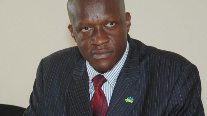 Joseph Habineza, Minister for Sports and culture.