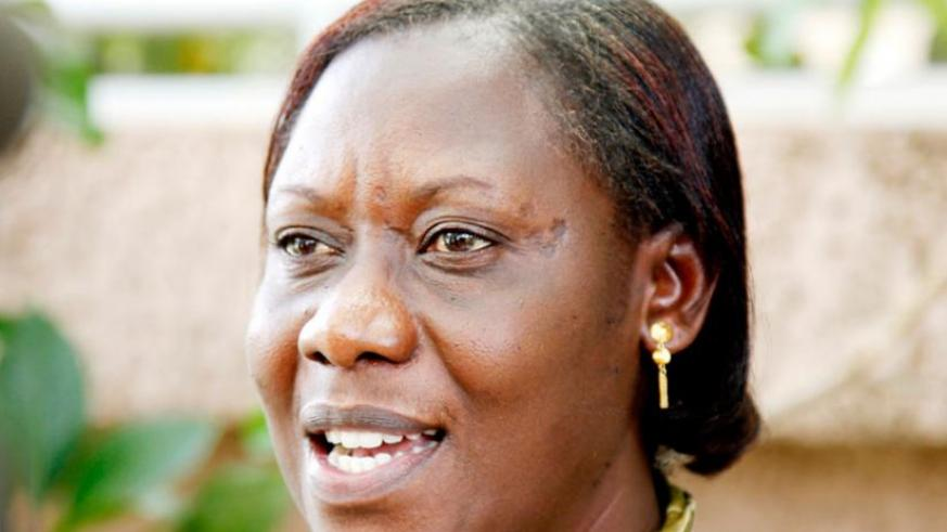 Mukabaranga says the report proves efforts of empowerment are paying off. (File)
