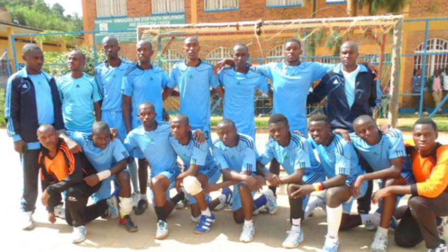 Police squad that won both league and Carre d'AS tourney this season. (Jean Claude Kubwimana)