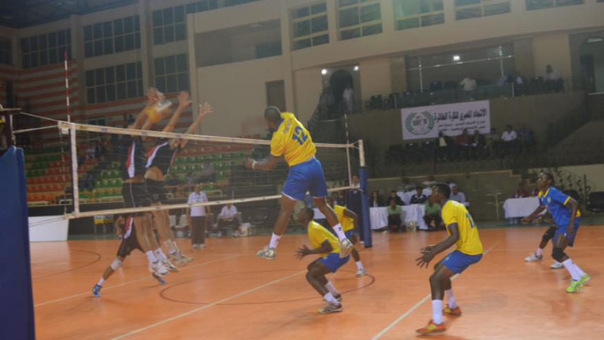 The U-23 team lost to Egypt 3-0 in the Africa U-23 Volleyball Championships. P.Kamsa