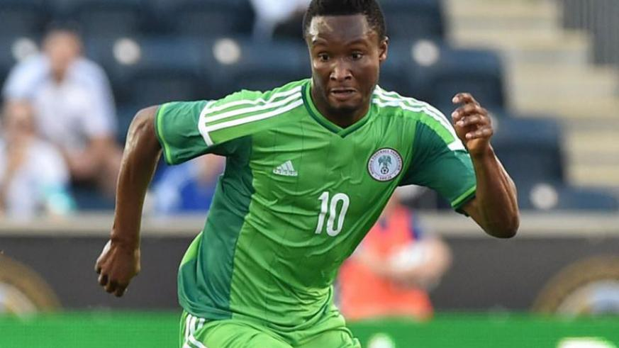 Nigeria's star midfielder Obi Mikel keen to spur his team to Afcon 2015. (Net photo)