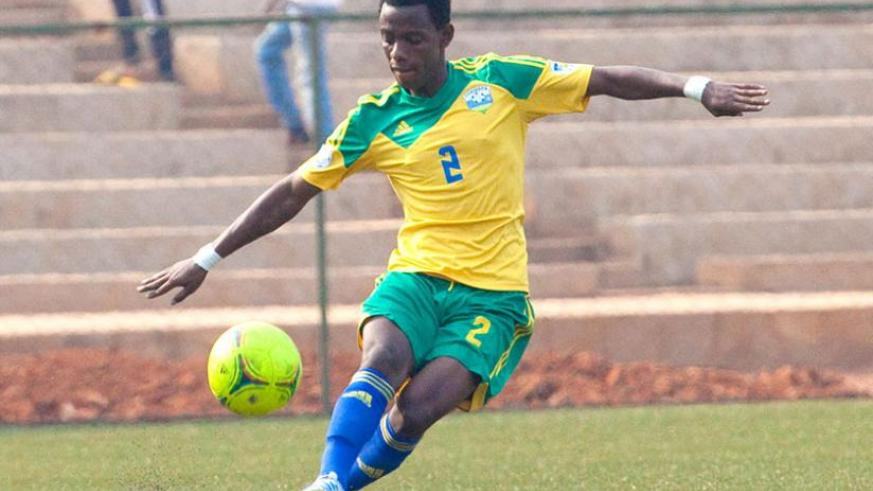 Constantine wants players like defender Michel Rusheshangoga (pictured) to play more friendlies in preparation for 2016 CHAN championship. (Timothy Kisambira)