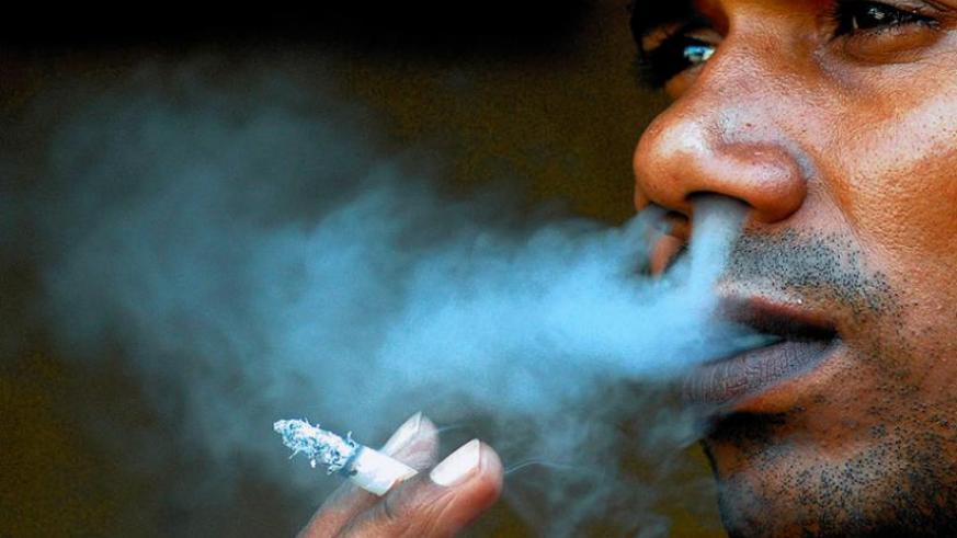 Smoking is one of the causes of non communicable diseases. (Internet photo)