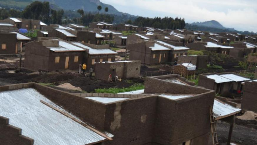 A view of some of the houses meant for returnees and the vulnerable in Nyabihu District. (Jean d'Amour Mbonyinshuti )