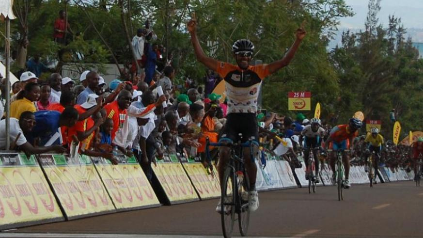 Africa's top cyclist Mekseb Debesay has tipped local riders to shine on the Continent. (Courtesy)