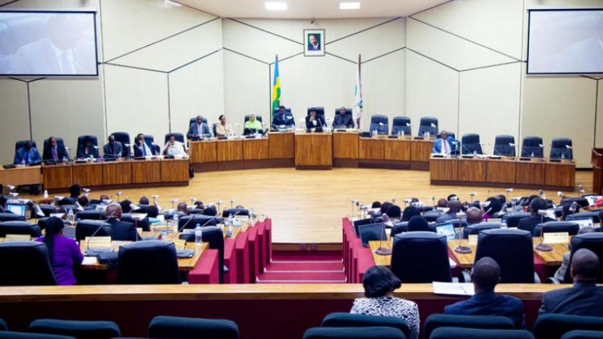 Members of Chamber of Deputies during a past session.(Timothy Kisambira)