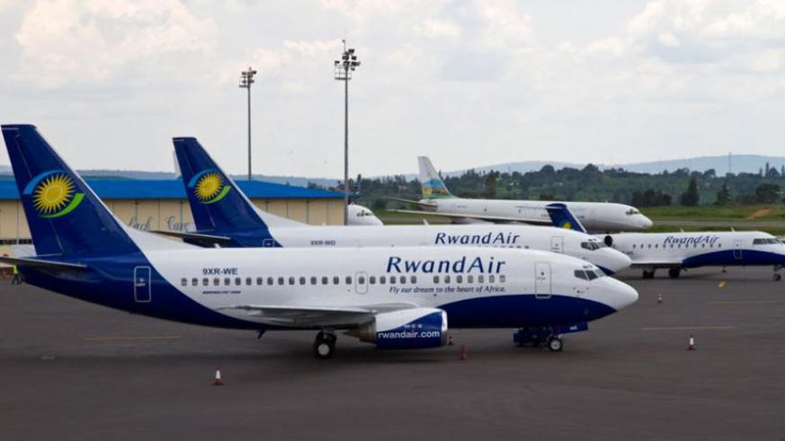 RwandAir is one of the regional airlines due to benefit from the latest developments. (File)