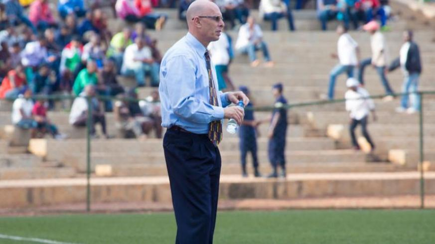 Amavubi coach Stephen Constantine has been linked with the Indian national team. (T. Kisambira)