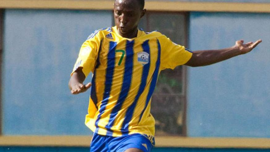 Andrew Buteera has not played for APR this season as he was waiting to be cleared to play as Rwandan. (File)
