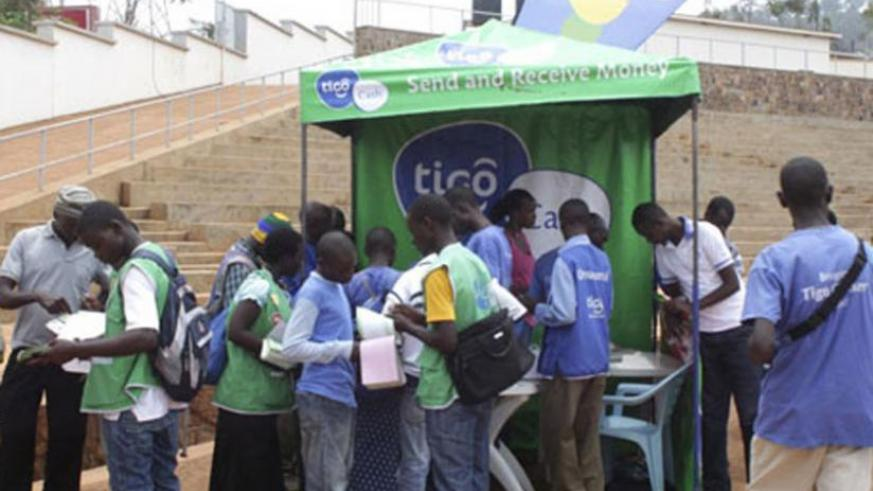 Tigo Rwanda yesterday unveiled online television services for 4G internet subscribers. (File)
