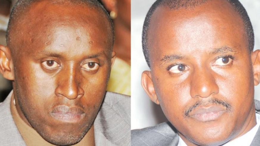 Habyarimana (L) and Kayumba are the latest mayors to throw in the towel. (File)