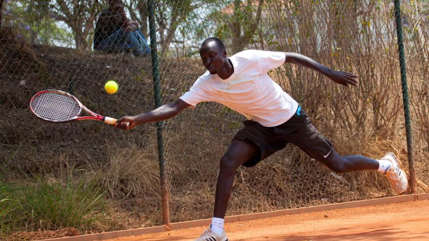 Tennis player Jean Claude Gasigwa died suddenly while training. Athletes have been urged to have regular medical check-ups. (File)