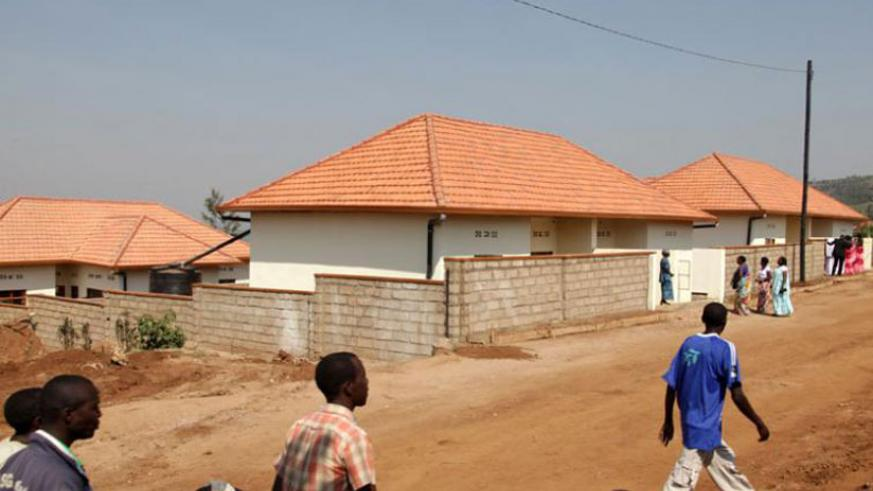 A planned village in Mageragere, Nyarugenge District. (File)