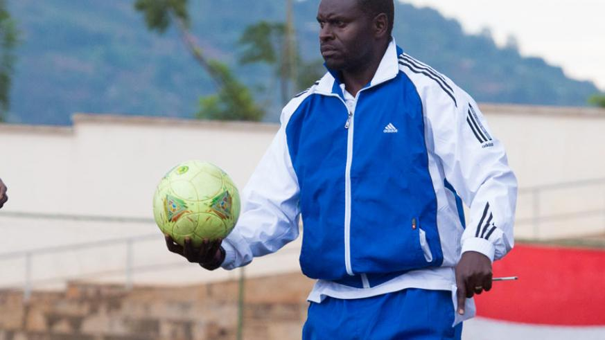 Sosthene Habinama will be in charge of Rayon Sports until end of the season. (Timothy Kisambira)