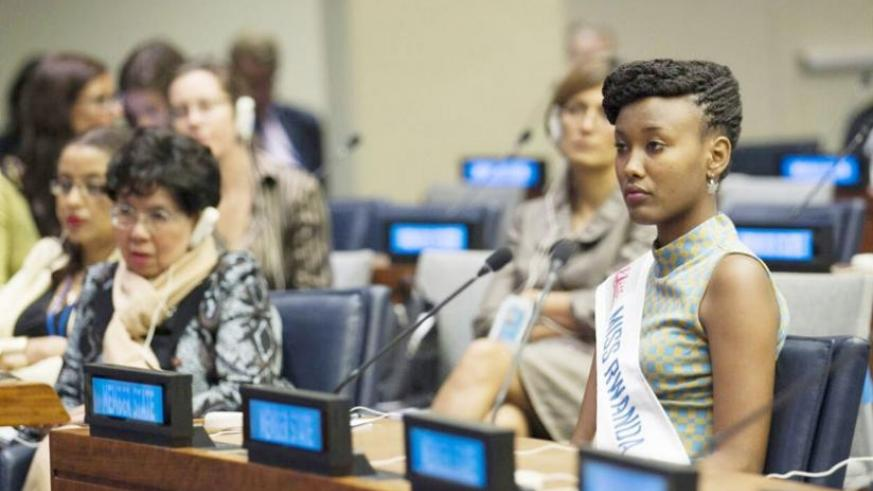 Akiwacu during the United Nations Climate Summit in New York. (Courtesy)