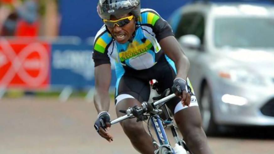 Janvier Hadi, seen here competing in the African Continental Championship in South Africa last month, finished second in Tour International d'Oraine on Saturday. (Courtesy)