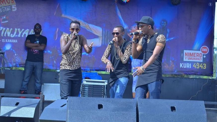 Active wowed the crowd with an electrifying performance. (Plaisir Muzogeye)