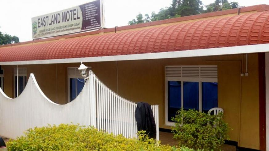 The rear view of East Land Motel in Ngoma District. (Stephen Rwembeho)