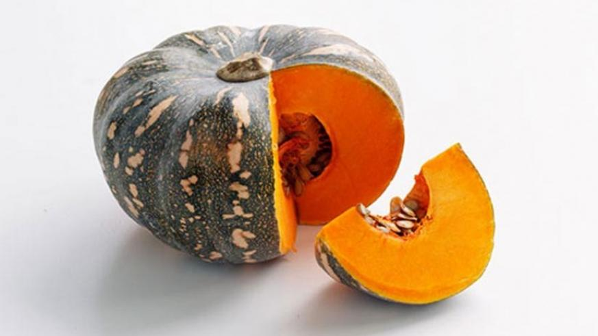 Pumpkins are a good source of iron and carbohydrates.