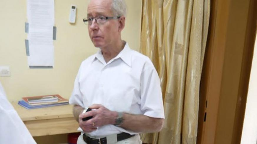 Prof. Ron Prinn says the observatory will help educate Rwandans interested in atmospheric science. (Solomon Asaba)