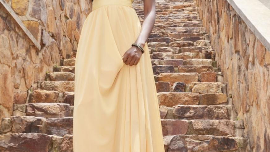 The maxi skirt is for any occasion, whether casual or formal. (Photos by D. Mbabazi)