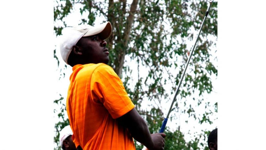 Hakizimana, seen here during a previous local event, overcame stiff challenge from Ugandans to win Kabale Open. (File)