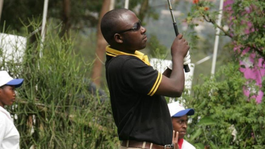 Jean Baptiste Hakizimana, seen here in a previous event, is fresh from winning the Kabale Open over the weekend. (File)