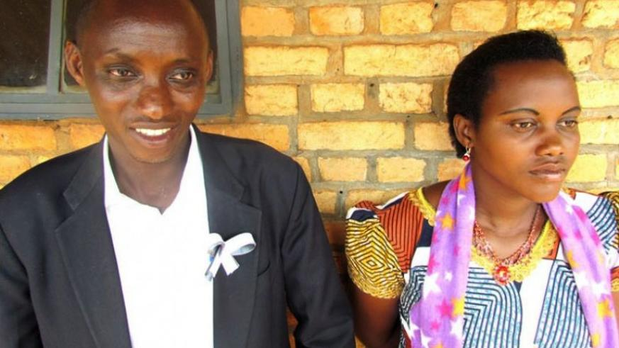 Kabeja and Munganyinka from Kayonza District, are steadfast in marriage despite ethnic prejudice. (File)