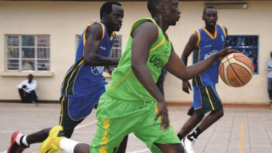 United Generation Basketball (Green) won the corresponding fixture against Patriots (Blue). (Sam Ngendahimana)