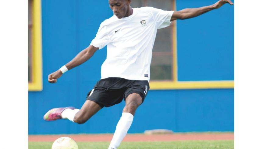 APR midfield kingpin Jean Baptiste Mugiraneza is confident that the army side will cope without four of their key players. (T. Kisambira)