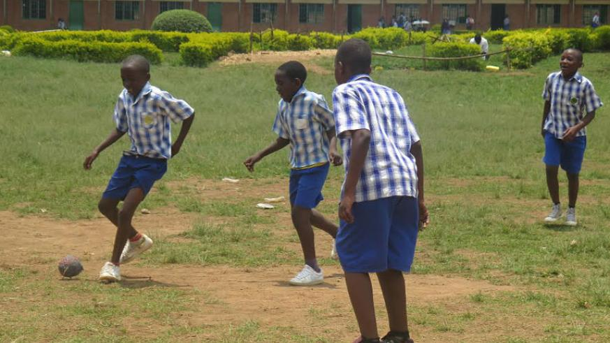 Children become more friendly, healthier and disciplined when they embrace sports. (Solomon Asaba)