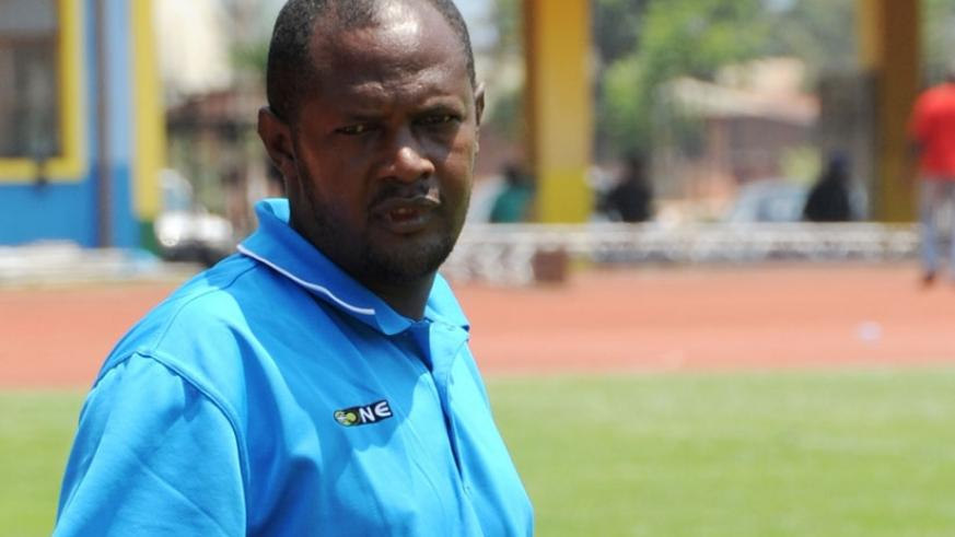 Gicumbi coach Emmanuel Ruremesha has guided the Byumba side to 4th place. (File)