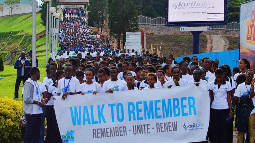 Participants at this year's Walk to Remember (Courtesy)