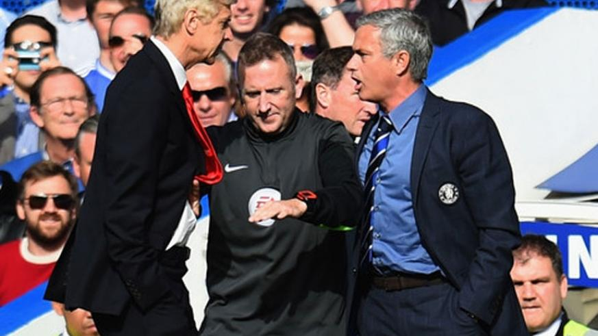 No love lost as Wenger hosts Mourinho in a clash of two managers. (Net)