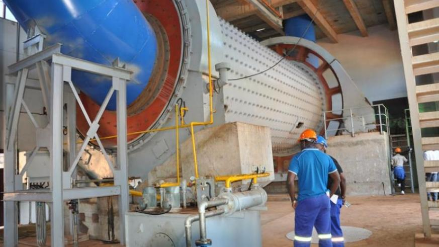 CIMERWA's production capacity is set to increase from the current 100,000 tonnes of cement per year to 600,000 tonnes.