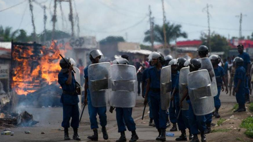 At least 15 people have been killed in the ongoing crisis in Burundi. (Net photo)