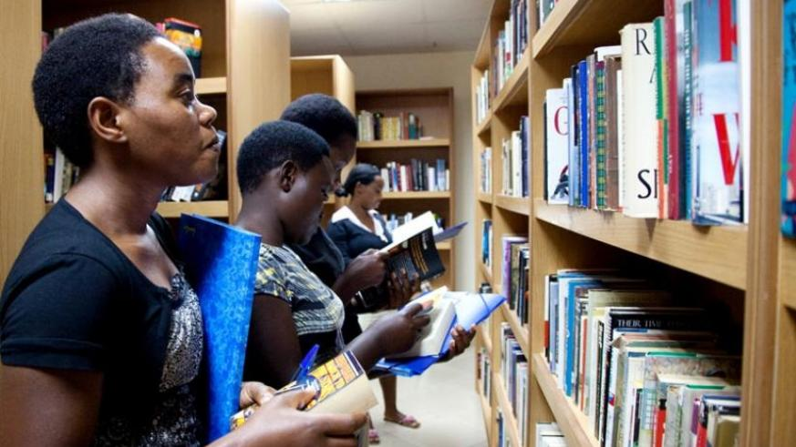 Kigali Public Library offers material for research. (File)