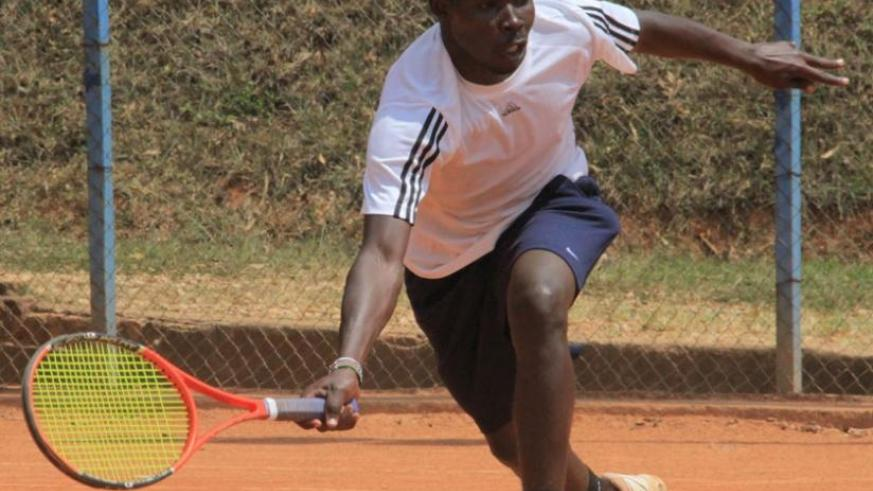 Mathieu Uwizeyimana in action in a past competition. R. Bishumba