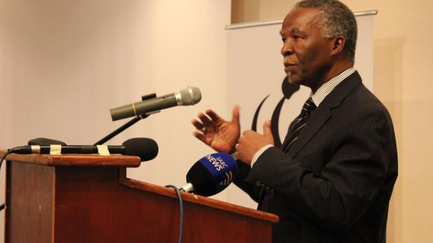 Former South African President Thabo Mbeki chaired a commission which found that African countries lose over US$50 billion in Illicit financial flows. (Internet photo)