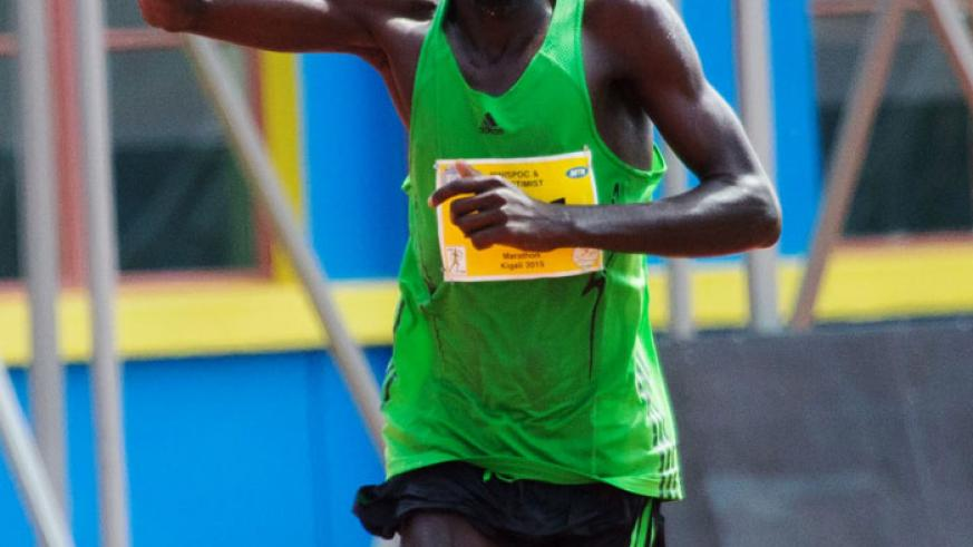 Kemboi is no stranger to the annual event, having finished fifth in the 2013 edition.  (T. Kisambira)