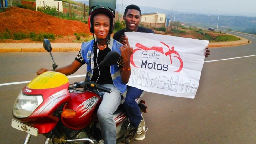 SafeMotos is aiming at reducing the road carnage caused by moto taxi riders. (Courtesy)