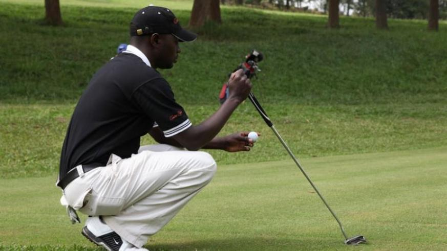 Rwanda's number two ranked professional golfer, Ruterana finished 14th in last year's Uganda Open. (File)