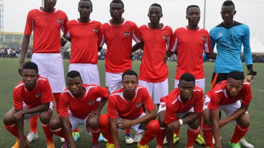 Bugesera FC have set themselves a target to be a permanent fixture in the National Football League. (File)