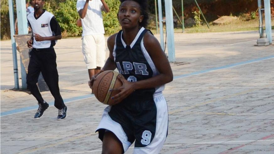 APR's guard Sandra Kantore will be crucial for the army side. (Sam Ngendahimana)