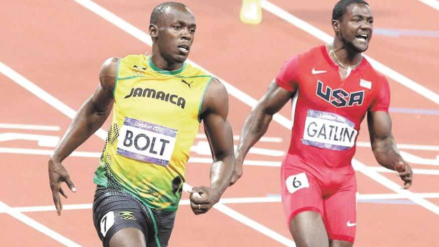 Bolt and Gatlin into World Championship 100m semis. (Internet photo)