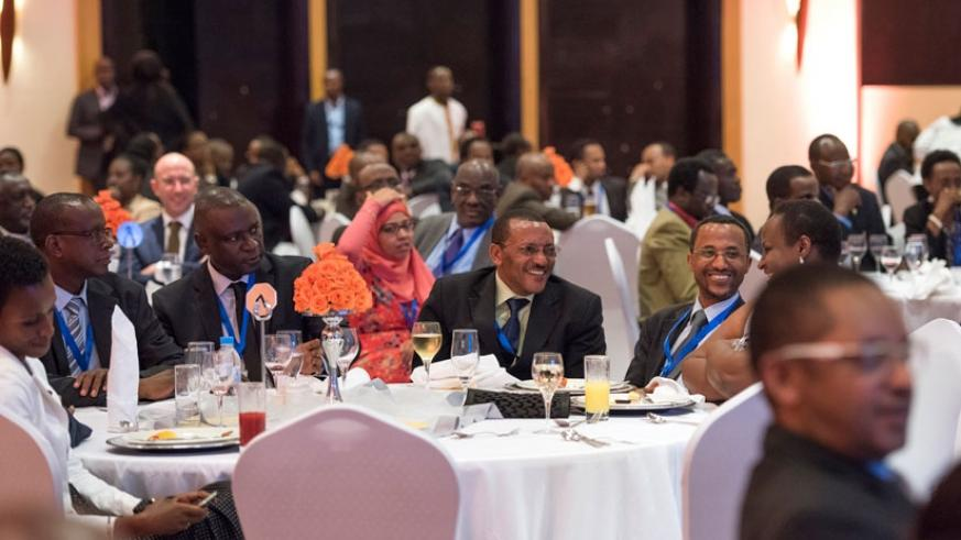 Delegates at the inaugural Meles Zenawi symposium in Kigali. The celebrated Ethiopian Prime Minister is credited for laying the foundation of Ethiopia's current growth and development. His philosophy has inspired different countries on the continent. (Village Urugwiro)