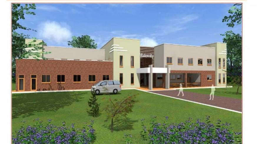 An artistic impresssion of the proposed new maternity ward at Kabutare Hospital. (Courtesy)