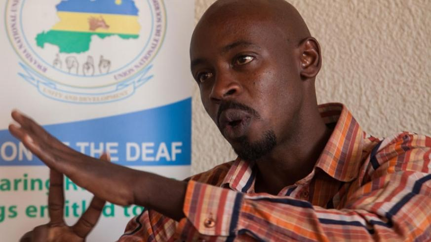 Emmanuel Shyaka has defied challenges to aim for the top. (Faustin Niyigena)